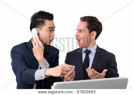 Shocked Business Brokers