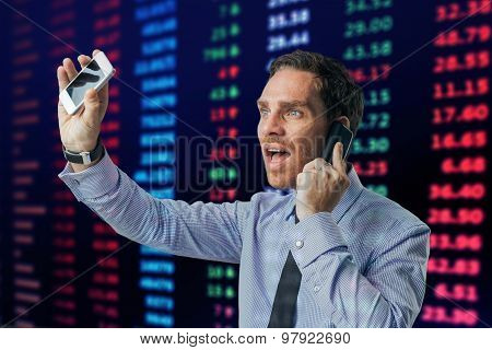 Busy Financial Broker