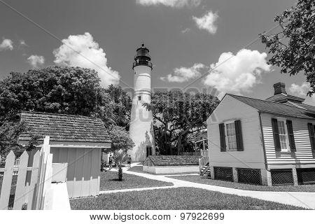 The Key West Lighthouse