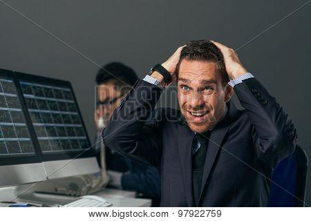 Frustrated Financial Broker