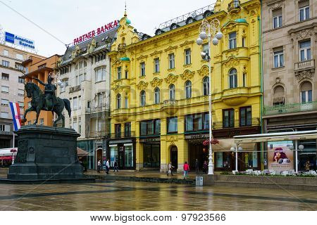 Ban Jelacic Square, Zagreb