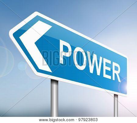 Power Concept.