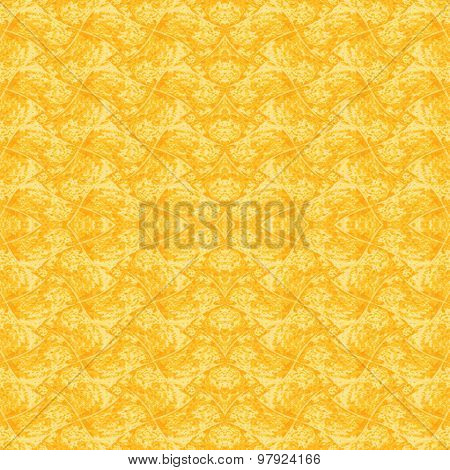 Seamless pattern yellow orange
