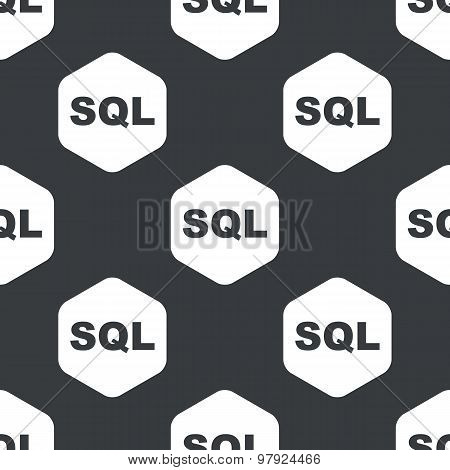 Black hexagon SQL pattern