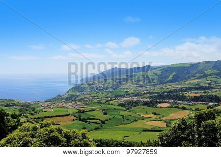 Plantation In Porto Formoso On The North Coast Of The Island Of Sao Miguel