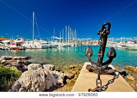 Adriatic Town Of Rogoznica Sailing Harbor