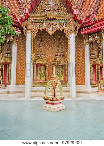 Amazing Beautiful Architecture temple in Thailand