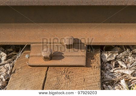 rails, joint fastenings.