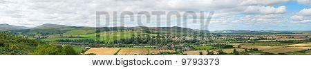 Wooler, Northumberland, England, am Fuße des die Cheviot Hills