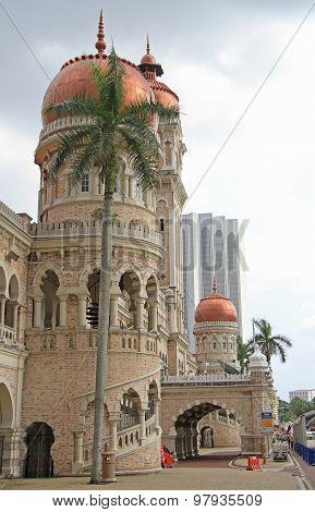 Sultan, Abdul Samad building in Kuala Lumpur
