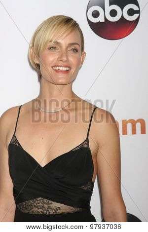 LOS ANGELES - AUG 4:  Amber Valletta at the ABC TCA Summer Press Tour 2015 Party at the Beverly Hilton Hotel on August 4, 2015 in Beverly Hills, CA