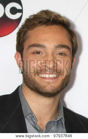 , LOS ANGELES - AUG 4:  Ed Westwick, Chace Crawford at the ABC TCA Summer Press Tour 2015 Party at the Beverly Hilton Hotel on August 4, 2015 in Beverly Hills, CA