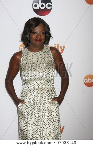 LOS ANGELES - AUG 4:  Viola Davis at the ABC TCA Summer Press Tour 2015 Party at the Beverly Hilton Hotel on August 4, 2015 in Beverly Hills, CA