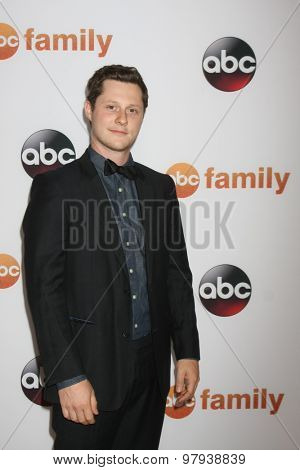 LOS ANGELES - AUG 4:  Noah Reid at the ABC TCA Summer Press Tour 2015 Party at the Beverly Hilton Hotel on August 4, 2015 in Beverly Hills, CA