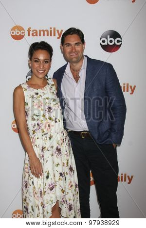 , LOS ANGELES - AUG 4:  Victoria Scott, Blair Brandt at the ABC TCA Summer Press Tour 2015 Party at the Beverly Hilton Hotel on August 4, 2015 in Beverly Hills, CA