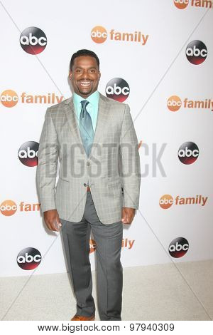 , LOS ANGELES - AUG 4:  Alfonso Ribeiro at the ABC TCA Summer Press Tour 2015 Party at the Beverly Hilton Hotel on August 4, 2015 in Beverly Hills, CA