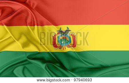 Bolivia Flag.