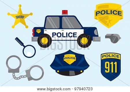 Police Station elements