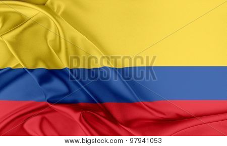 Colombia Flag.