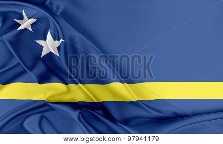 Curacao Flag.