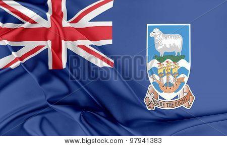 Falkland Islands Flag.