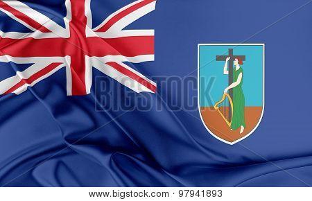 Montserrat Flag.