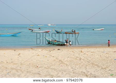 Socotra, Fishing Boats