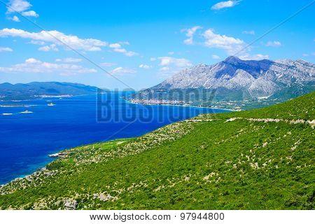 Peljesac Peninsula Landscape