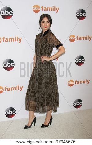 LOS ANGELES - AUG 4:  Karolina Wydra at the ABC TCA Summer Press Tour 2015 Party at the Beverly Hilton Hotel on August 4, 2015 in Beverly Hills, CA