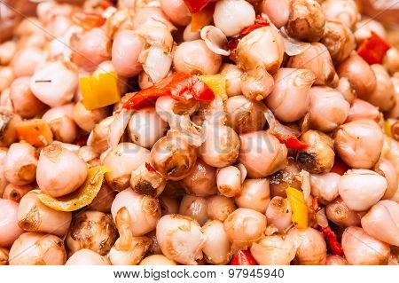 Pickled Onions With Spices