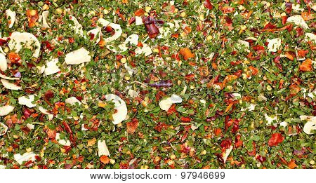 Mix Of Herbs And Spices