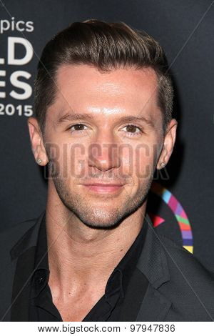 LOS ANGELES - JUL 31:  Travis Wall at the Special Olympics Inaugural Dance Challenge at the Wallis Annenberg Center For The Performing Arts on July 31, 2015 in Beverly Hills, CA