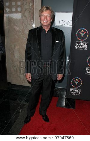 LOS ANGELES - JUL 31:  Nigel Lythgoe at the Special Olympics Inaugural Dance Challenge at the Wallis Annenberg Center For The Performing Arts on July 31, 2015 in Beverly Hills, CA