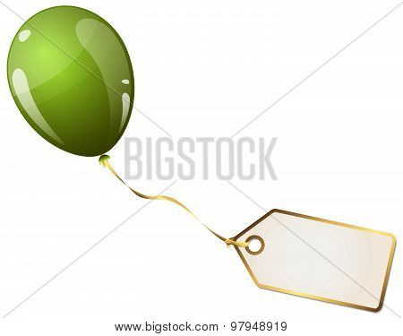 Balloon With Hangtag