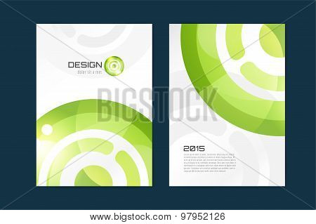Vector brochure template. Abstract design and creative magazine idea, blank, book cover or banner te