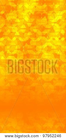 Yellow Abstract Background Flyer Page Cover Booklet Glow Effect
