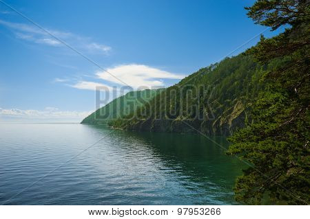 Baikal Lake Coast; Near Listvyanka