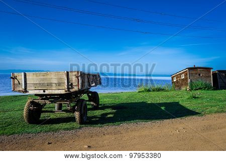 Weathered Trailer