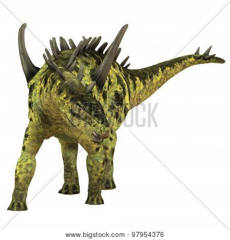 Gigantspinosaurus Herbivore Dinosaur