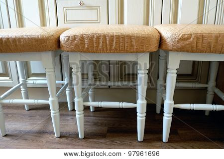 FURNITURE FOR KITCHEN. Soft chairs.