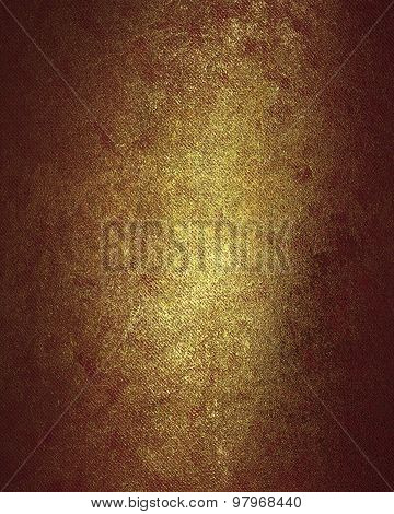 Red gold texture. Design template. Design for site