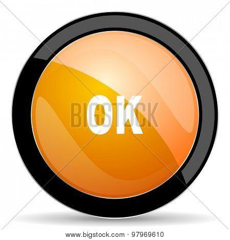 ok orange icon