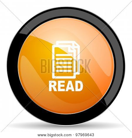 read orange icon