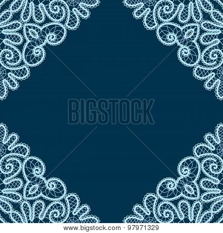 Decorative Lace Corners