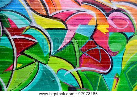 Street art tag