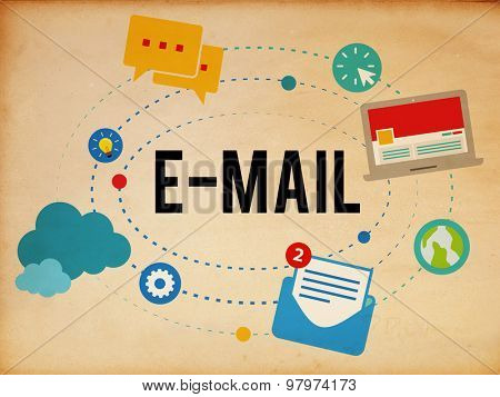 Email Technology Online Communication Social Media Concept