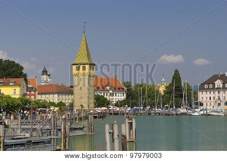 Lindau Harbor Boardwalk