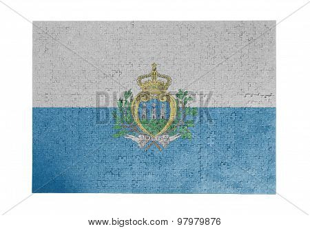 Large Jigsaw Puzzle Of 1000 Pieces- San Marino