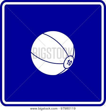 medicine ball sign