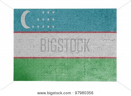 Large Jigsaw Puzzle Of 1000 Pieces - Uzbekistan